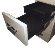Drawer-in-a-half-drawer